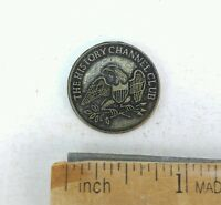 VINTAGE 1776 COMMEMORATIVE THE HISTORY CHANNEL CLUB LIBERTY BELL COIN TOKEN NICE