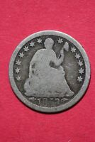 CULL 1853 P SEATED LIBERTY HALF DIME EXACT COIN SHOWN FLAT RATE SHIPPING OCE 179