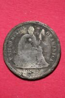 CULL 1862 P SEATED LIBERTY HALF DIME EXACT COIN SHOWN FLAT RATE SHIPPING OCE 200