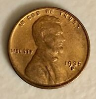 1935-S RED/BROWN LINCOLN CENT,