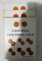 CALIFORNIA PIONEER FRACTIONAL GOLD COINS DOERING 2ND EDITION HARDCOVER 1982