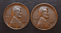 1921-P & 1921-S - , HIGH GRADE DATE SET OF LINCOLN WHEAT CENTS
