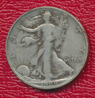 1929-S WALKING LIBERTY SILVER HALF DOLLAR  GOOD COIN SHIPS FREE