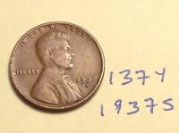 1937-S 1C BN LINCOLN CENT 137Y