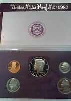1987 S UNITED STATES PROOF SET WITH KENNEDY HALF DOLLAR