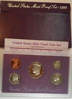 1989 S UNITED STATES MINT PROOF SET WITH KENNEDY HALF DOLLAR