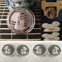 CUSTOM METAL FREE GODDESS COMMEMORATIVE COIN COLLECTION COMMEMORATIVE STAMP GIFT
