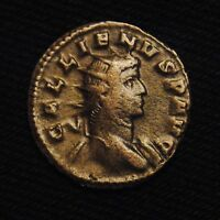 BILLON ANTONINIANUS EMPEROR GALLIENUS RV ORIENS AVG  MILAN AD 264 5  2.47 GRAMS