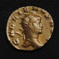 BILLON ANTONINIANUS EMPEROR GALLIENUS RV SALVS AVG  MILAN MINT 265 7  3.27 GRAMS