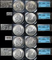 Click now to see the BUY IT NOW Price! ELITE COINS   $1 VARIETY JOP COUNTERSTAMP COLLECTION  1935 1954  23 COINS LX000