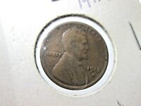 1913S CIRCULATED LINCOLN WHEAT EARS REVERSE CENT, F-VF COND STAPLED IN PROTECTOR