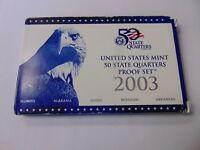 2003 UNITED STATES MINT 50 STATE QUARTERS PROOF SET COIN SALE