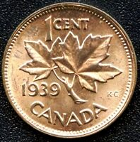 1939 CANADA SMALL CENT COIN