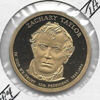 2009 S ZACHARY TAYLOR  PROOF  PRESIDENTIAL DOLLAR