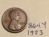 1923 1C BN LINCOLN CENT 864Y