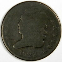 1828 CLASSIC HEAD HALF CENT   CHOCOLATE BROWN GOOD  PRICED RIGHT