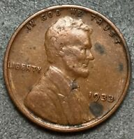 1933 P EXTRA FINE  EXTRA FINE BN LINCOLN WHEAT CENT PENNY. L676 FREE SHIP