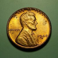 1948 D LINCOLN WHEAT CENT W27414