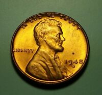 1948 D LINCOLN WHEAT CENT W27415