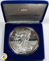 1995 WASHINGTON MINT HALF POUND SILVER EAGLE   .999 PURE SILVER