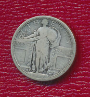 1917-D STANDING LIBERTY SILVER TYPE I QUARTER COLLECTIBLE COIN SHIPS FREE