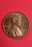 RED BU 1970 P LINCOLN MEMORIAL CENT EXACT COIN SHOWN FLAT RATE SHIPPING TOM24