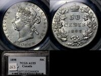 Click now to see the BUY IT NOW Price! ELITE COINS   50 CENTS   1898   AU55 PCGS LUSTRE BOOK $5500  A148