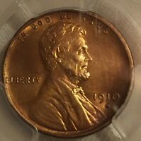 1910 S LINCOLN CENT PCGS UNCIRCULATED DETAILS  SHARP LOOKING LINCOLN