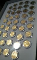 24K GOLD PLATED STATE QUARTER IN PLASTIC CAPSULE  YOU PICK ONLY ONE QUARTER