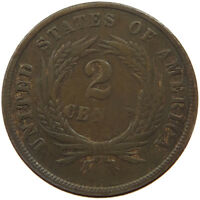 UNITED STATES 2 CENTS 1864   T37 307
