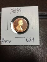 1983 S LINCOLN CENT PROOF 624