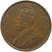CANADA LARGE CENT 1920  QW 049