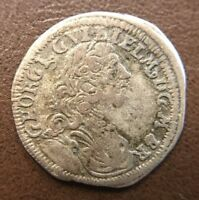 1720 GREAT BRITAIN HAMMERED MEDIEVAL SILVER COIN BEAUTIFUL O