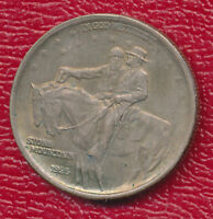 1925 STONE MOUNTAIN COMMEM SILVER HALF DOLLAR UNCIRCULATED SHIPS FREE