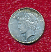 1927 PEACE SILVER DOLLAR CHOICE BRILLIANT UNCIRCULATED SHIPS FREE