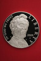 2009 P PROOF ABE LINCOLN COMMEMORATIVE SILVER DOLLAR EXACT COIN SHOWN OCE325