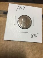 1914   LINCOLN CENT 815