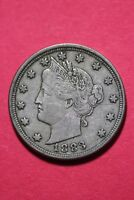 1883 P LIBERTY NICKEL NO CENTS EXACT COIN PICTURED FLAT RATE SHIPPING OCE052