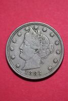 1883 P LIBERTY NICKEL NO CENTS EXACT COIN PICTURED FLAT RATE SHIPPING OCE054