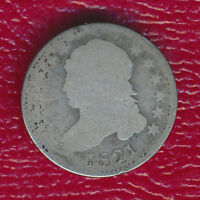 1821 CAPPED BUST SILVER DIME  EARLY TEN CENT PIECE SHIPS FREE