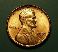 1955 D LINCOLN WHEAT CENT W27361