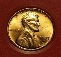 1955 D LINCOLN WHEAT CENT W26998