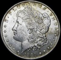 1884-O MORGAN DOLLAR SILVER US COIN --- GEM BU CONDITION ORIGINAL --- U478