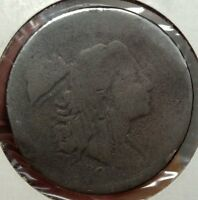 1794 LARGE CENT, HEAD OF 1794, FLOWING HAIR, ORIGINAL CIRCULATED COIN  0222-02
