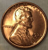 1933 D LINCOLN CENT RD  GEM BU  GREAT LUSTER WILL GRADE HIGH