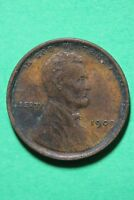 1909 VDB LINCOLN WHEAT CENT PENNY EXACT COIN PICTURED FLAT RATE SHIPPING OCE0377