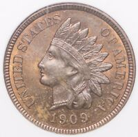 1909 INDIAN HEAD CENT ANACS MINT STATE 64 RB - IHC PENNY
