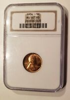 1934 LINCOLN CENT 1C MINT STATE 67 RD NGC