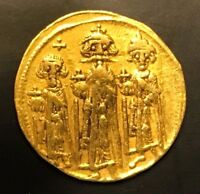 ANCIENT BYZANTINE GOLD COIN HERACLIUS. SOLIDUS 610   641 A.D.  COIN