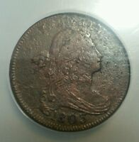 1803 SMALL DATE LARGE FRACTION S-261 VF DETAILS NCS LARGE CENT